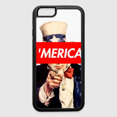 Uncle Sam Box Logo - iPhone 6/6s Rubber Case