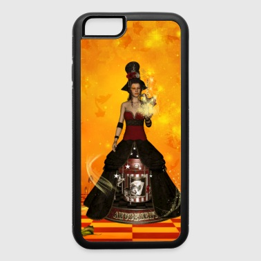 Wonderful fantasy women with carousel - iPhone 6/6s Rubber Case