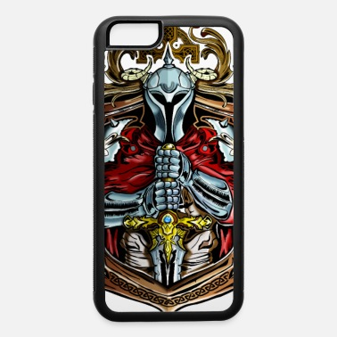 knight in shining armor holding sword - iPhone 6 Case