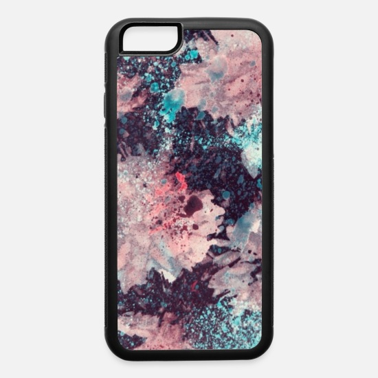 best service 7845a 5bcc5 Colorful Marble Design iPhone 6/6s Rubber Case - white/black