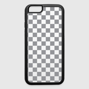 Grey Checkerboard - iPhone 6/6s Rubber Case