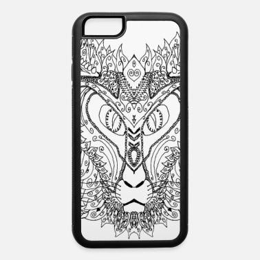Egypt cats worship - iPhone 6/6s Rubber Case