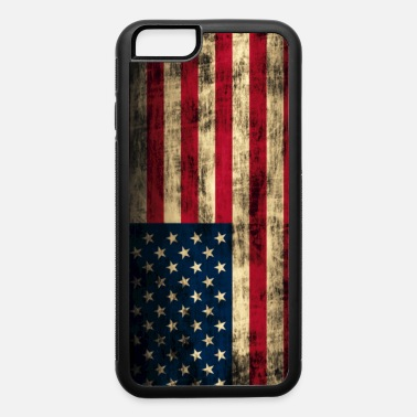 State American Flag Vintage Grunge USA Rustic - iPhone 6 Case