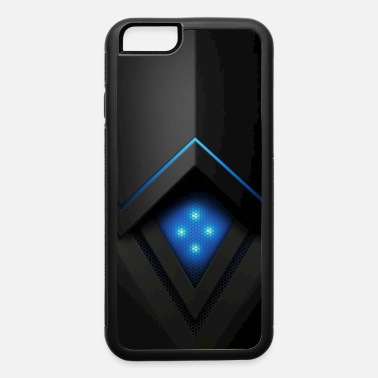 Mobile ILLUMINATED METAL BLUE - iPhone 6/6s Rubber Case