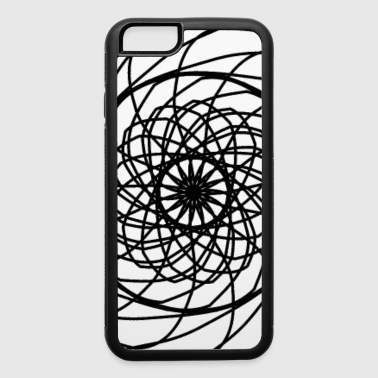 Abstract Sawblade - iPhone 6/6s Rubber Case