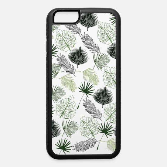 Vintage Lover iPhone Cases - Jungle Pattern - iPhone 6 Case white/black