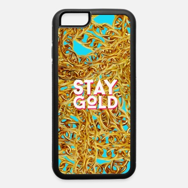 Valentine's Day STAY GOLD - iPhone 6/6s Rubber Case