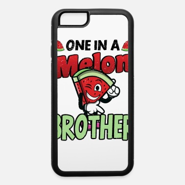 One In A Melon Brother Sibling Love Saying Melon Watermelon - iPhone 6 Case