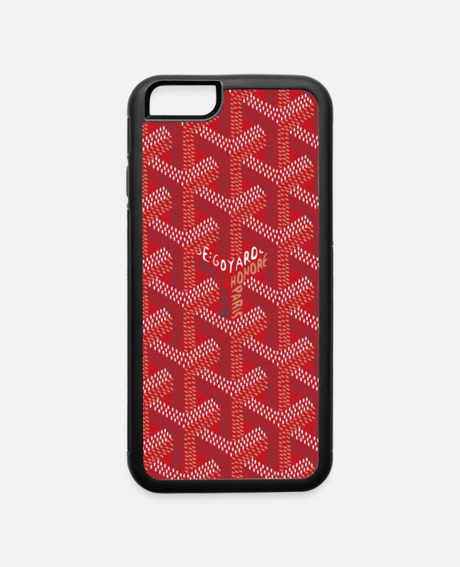 Technology iPhone Cases - Red iPhone Case - iPhone 6 Case white/black