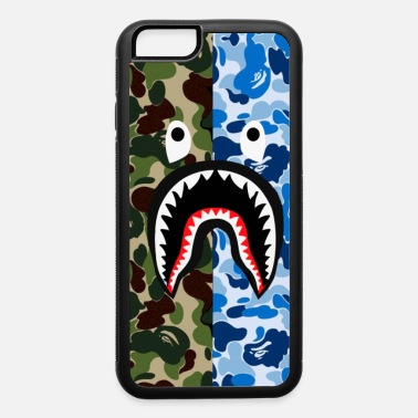 Ape A Bathing Ape Blue Shark - iPhone 6/6s Rubber Case