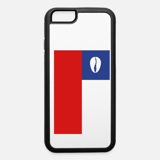 Chili iPhone Cases - Chilean flag for proud santero - iPhone 6 Case white/black