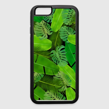 Leafs mashup pattern case - iPhone 6/6s Rubber Case