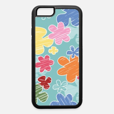 Crayon Flowers crayon - iPhone 6 Case