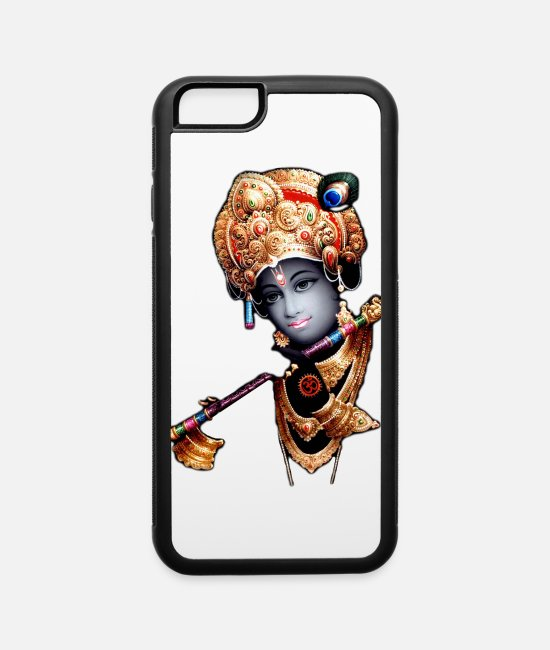 Master iPhone Cases - lord krishna wallpaper 1 - iPhone 6 Case white/black