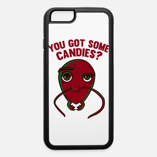 Red iPhone Cases - Ant Shirt For Your Awesome OOTD - iPhone 6 Case white/black