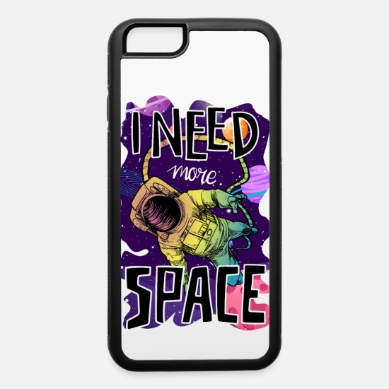 Neptune iPhone Cases - Astronaut - I Need More Space - iPhone 6 Case white/black