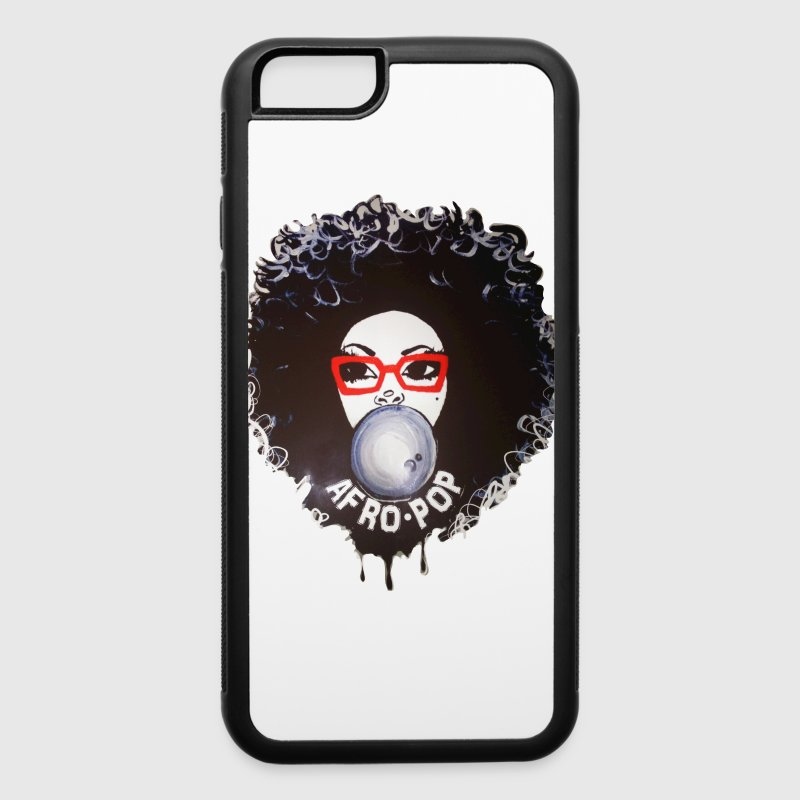 Afro pop_Global Couture Hoodies - iPhone 6/6s Rubber Case