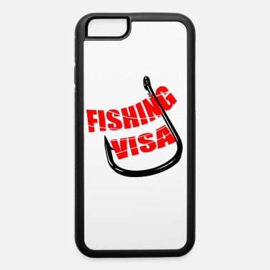 FISHING VISA T-SHIRT - iPhone 6/6s Rubber Case