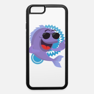 Under Cool Dolphin with sunglasses - iPhone 6 Case