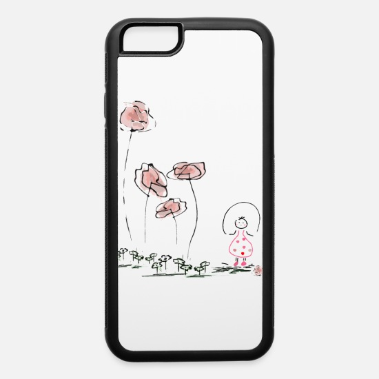 Love iPhone Cases - Little Girl - iPhone 6 Case white/black