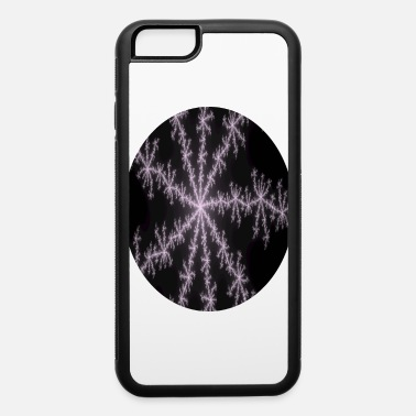Colors Fractal crystals oval - iPhone 6 Case