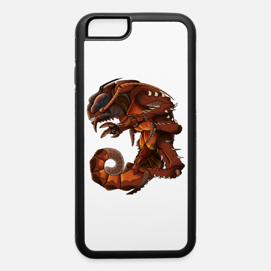 Gift Idea iPhone Cases - Giant Scifi Cockroach Monster - iPhone 6 Case white/black