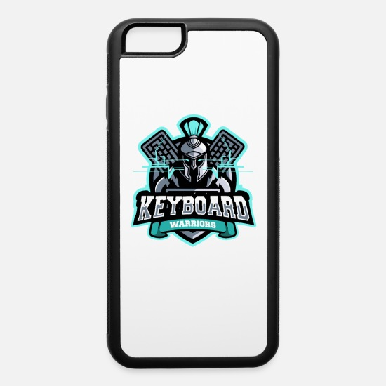 Coder iPhone Cases - Team Keyboard Warriors - iPhone 6 Case white/black