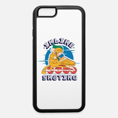 Inliner Inline sk8ting with inliner colorful inline skater - iPhone 6 Case