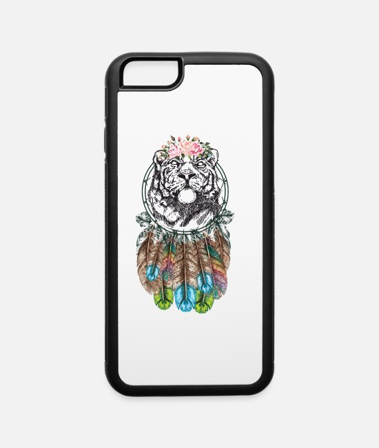 Nature iPhone Cases - Calm Tiger - iPhone 6 Case white/black