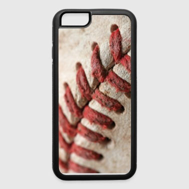 6 iPhone 6 Rubber Case Baseball Stitching - iPhone 6/6s Rubber Case