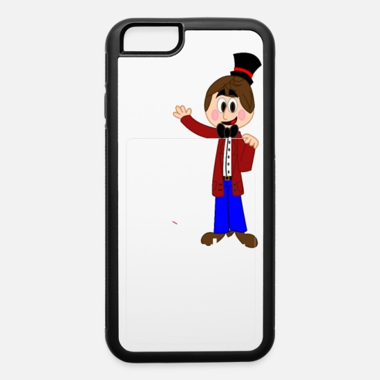 With iPhone Cases - Justin Spenz Card Holder iPhone Case - iPhone 6 Case white/black