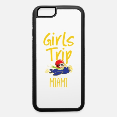 Collections Girls Trip Holidays Vacation Miami Trip - iPhone 6/6s Rubber Case