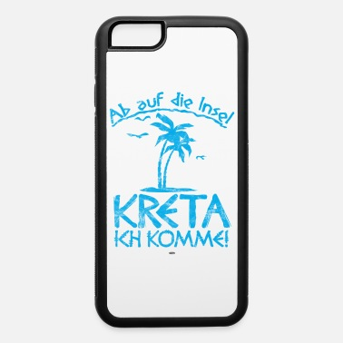 South Beach COOL GREECE CRETE MEDITERRANEAN SUN PALM TREES - iPhone 6 Case