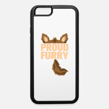 Furry furry tshirt - iPhone 6/6s Rubber Case