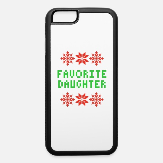 Daughters iPhone Cases - favorite daughter - iPhone 6 Case white/black