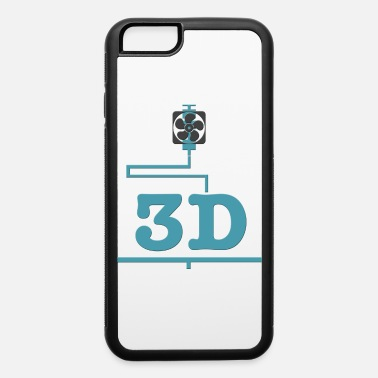 3d 3D printer, 3D, 3D printer, 3D printing, 3D printi - iPhone 6 Case