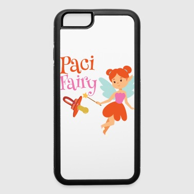 Tooth Paci Fairy: Cute Pacifier Fairy Shirt for Girls - iPhone 6/6s Rubber Case