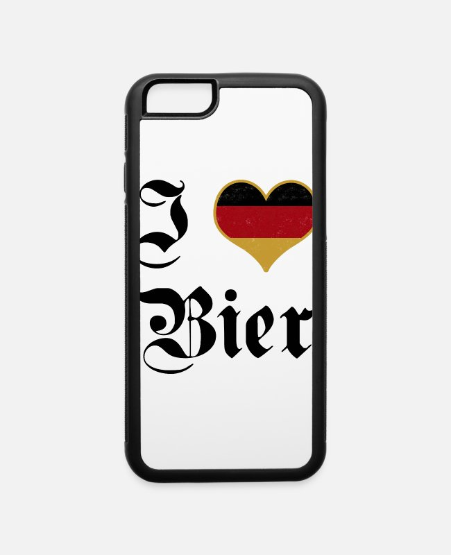 Coors iPhone Cases - I Love Beer - Beer - iPhone 6 Case white/black