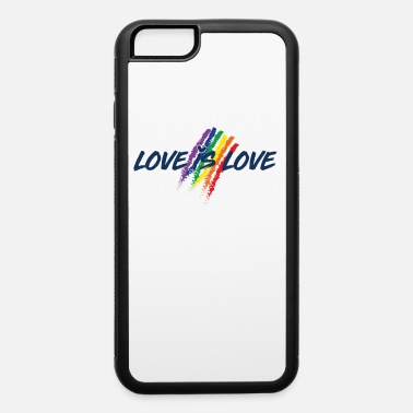 Non Gender LGBT Homosexual Gender Non Binary Cool Gift - iPhone 6 Case