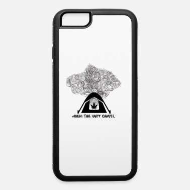 Weed Tent Hash Tag Happy Camper - iPhone 6 Case