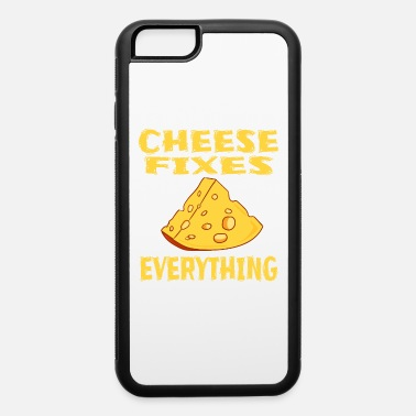 Lol Funny Cheese TShirt for people who are addicted - iPhone 6/6s Rubber Case