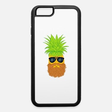 Cool-cute-stylish-mustaches Bearded Fruit Cool Pineapple Graphic Tshirt - iPhone 6 Case