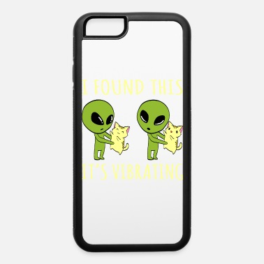 Puma An Alien Tee For Cat Lovers Saying I Found This - iPhone 6 Case