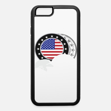 Cool Baseball Cool Baseball Tee For Players American Flag - iPhone 6 Case