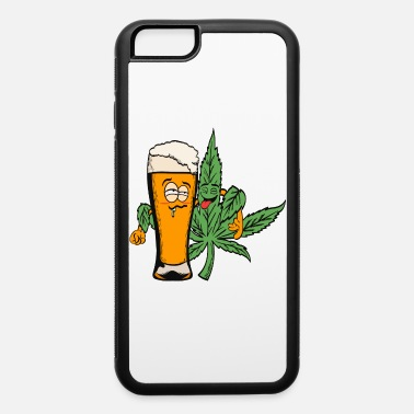Medicinal Plant Awesome Cannabis Shirt For High People Pot - iPhone 6 Case