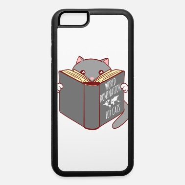 Cat Love Kitten Cat's Rule World Domination For Cats Ruler - iPhone 6 Case