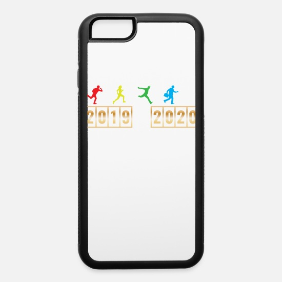 Year iPhone Cases - 2019 2020 Happy New Year 2020 January 1st - iPhone 6 Case white/black