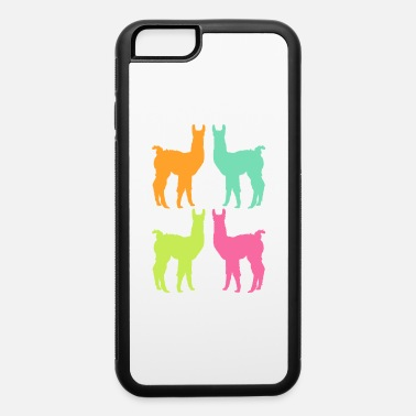 Andes Alpaca Shirt With A Cute Colorful Silhouette Of - iPhone 6 Case