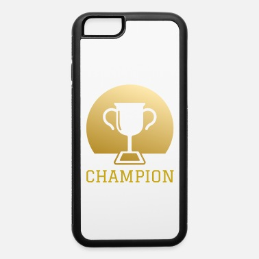 European Champion Football Sports Hobby Leisure Gift Champion - iPhone 6/6s Rubber Case