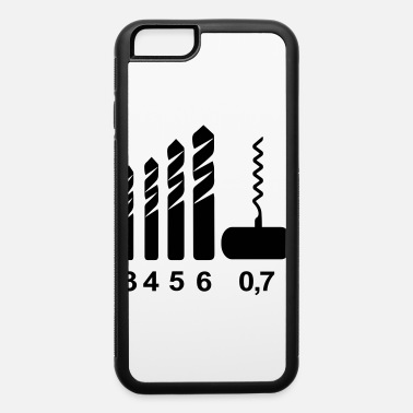 Corkscrew Corkscrew Drill Bits - iPhone 6 Case